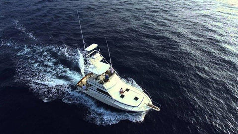 Ohana sportfishing adventure, Aerial picture