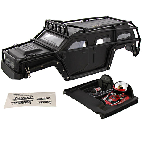 Thunder Tiger 1/8 K-Rock MT4 G5 Black Body, Roll Cage & Driver