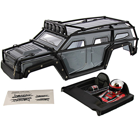 Thunder Tiger 1/8 K-Rock MT4 G5 Iron Gray Body, Roll Cage & Driver