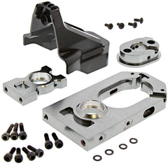 MT4K Motor Mount 6406-F111 Motor & Center Diff Mounts, Spur Gear Cover