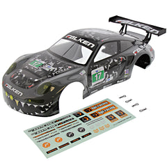 RS4s Body Gray Flux 114350 Falken Porsche 911 GT3 Gray Body