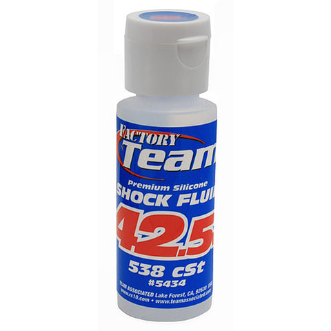 Team Associated Silicone Shock Fluid - 42.5wt 2oz, 5434