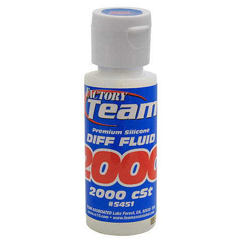 Team Associated Silicone Differential Fluid 2000cst, 5451