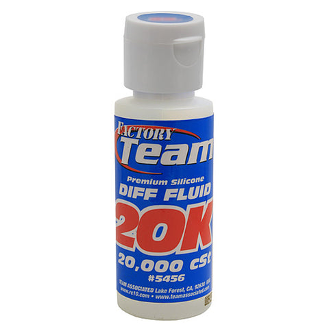 Team Associated Silicone Differential Fluid 20000cst, 5456