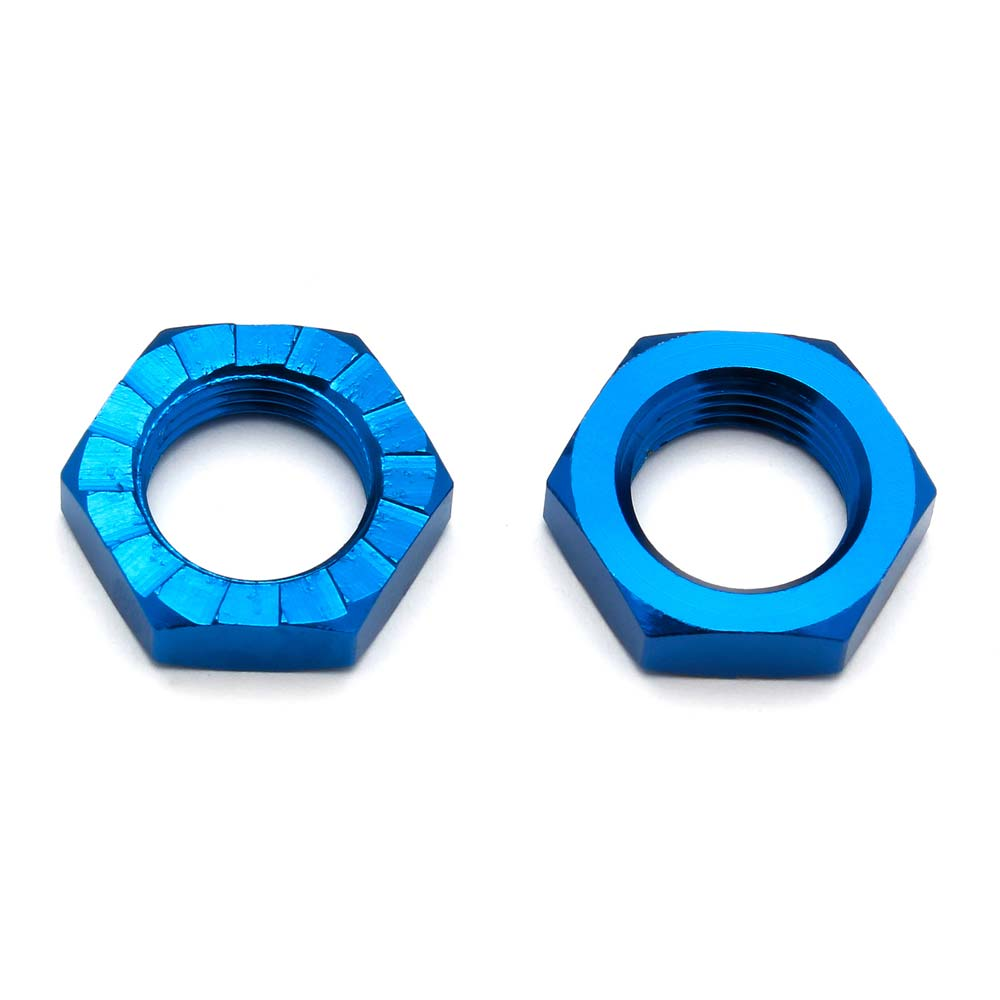 ASC81082 81082 17mm Wheel Nuts, Blue