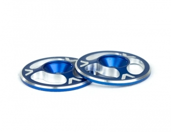 AVDAV1060-BLU AV1060-BLU Triad Wing Buttons, Blue