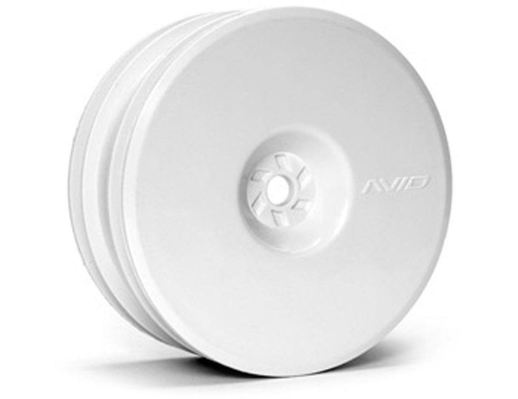 AVDAV1103-W AV1103-W Satellite Front Wheel, 12mm Hex, White