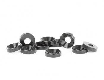 AVDAVCS-M4-BLK AVCS-M4-BLK Countersunk Washers, Blk