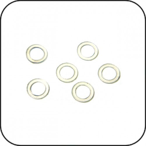 AWEA700-P16 A700-P16 Lock Ring, Four, Plastic, Clear