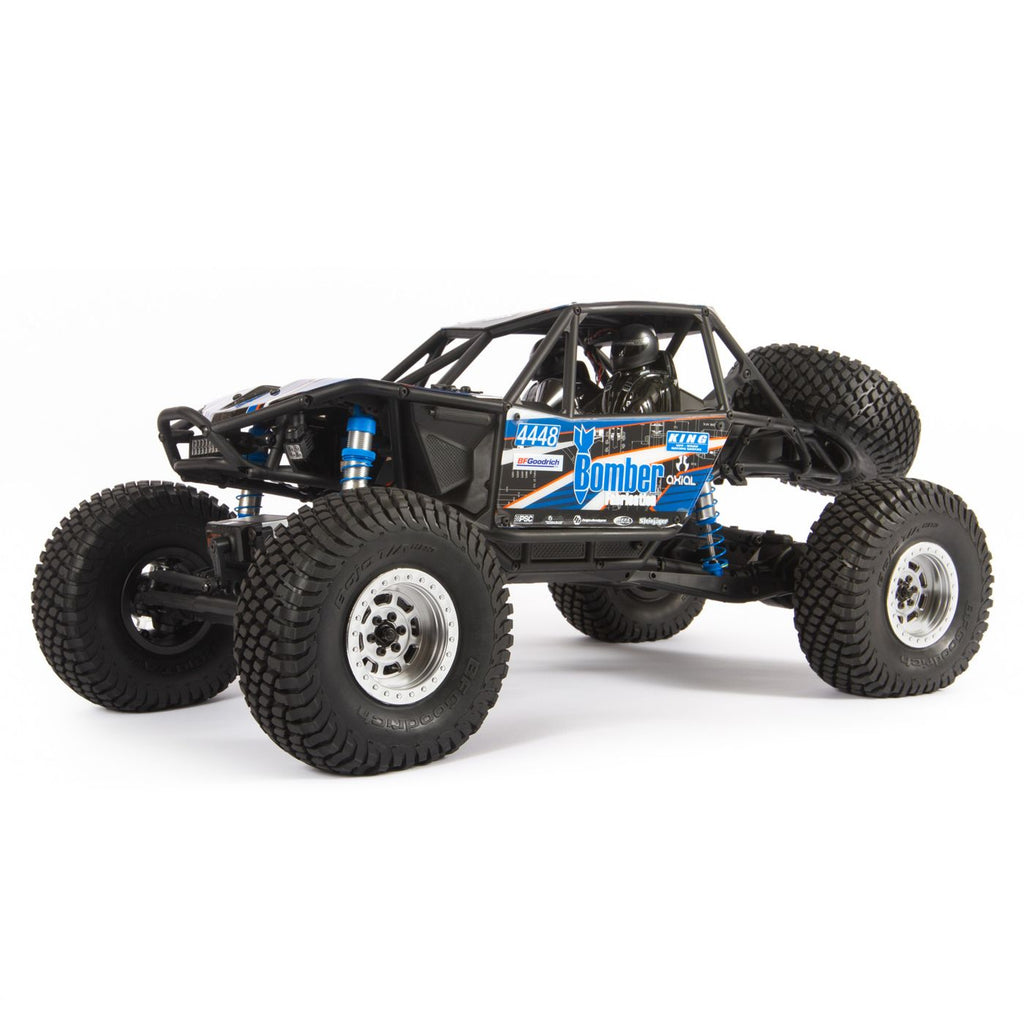 AXI03016T1 AXI03016T1 RR10 Bomber 1/10 4WD Rock Racer RTR, Blue