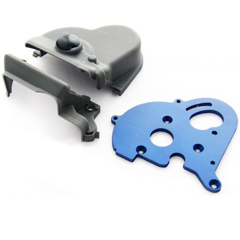 Traxxas 1/10 E-Maxx Brushless Motor Mount & Gear Cover