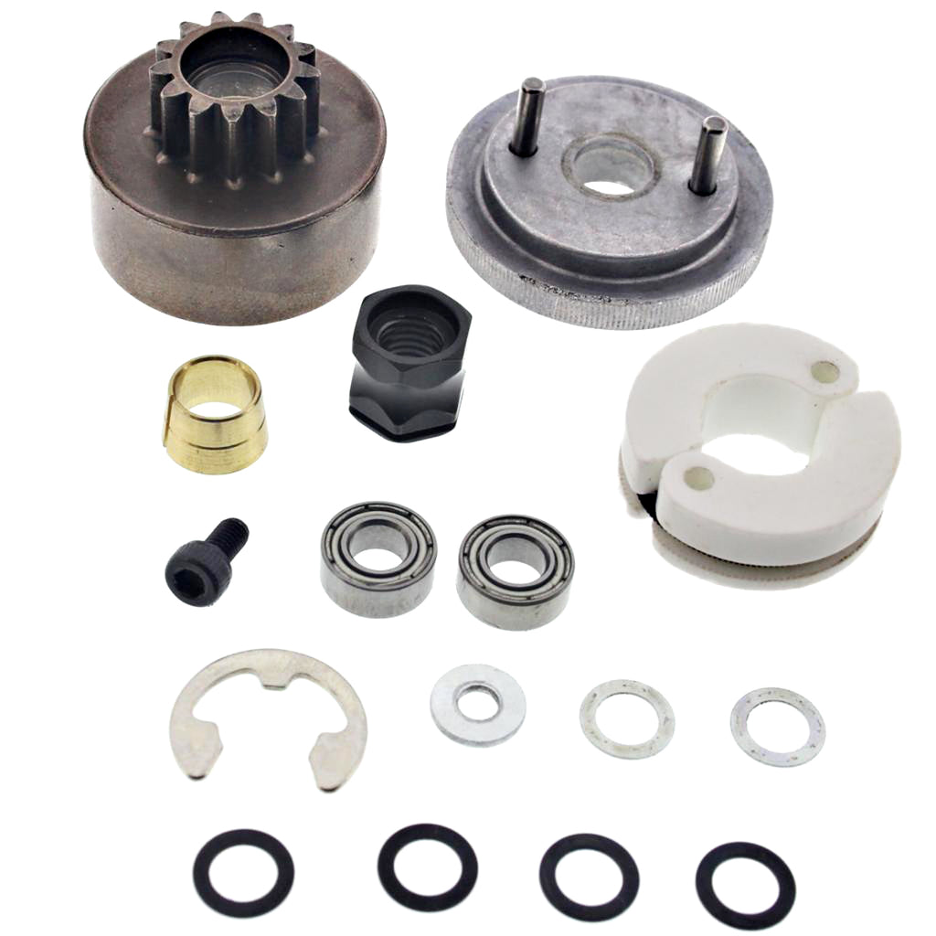 Bullet Clutch Fly 107006 Nitro Star G3.0 Flywheel, Clutch Bell, Shoes, Springs & Bearings
