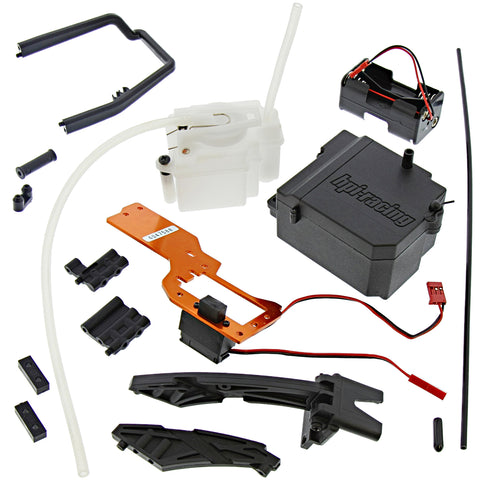 HPI 1/10 Bullet MT / ST Battery & Receiver Box, Radio Tray, & 75cc Fuel Tank