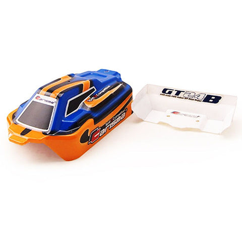 Carisma 1/24 GT24B Blue & Orange Body & Wing, CIS15380