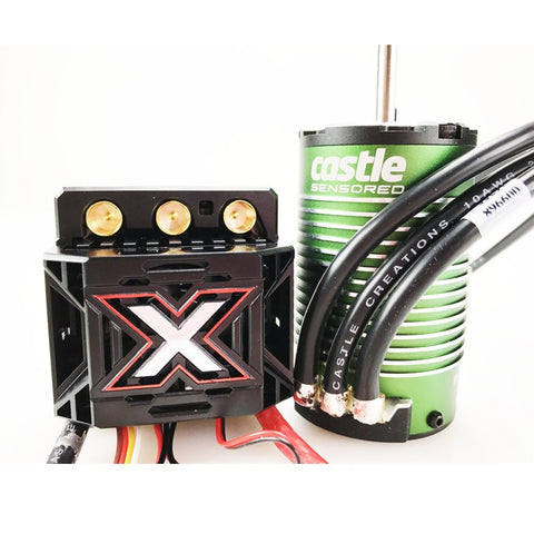 Castle Creations Mamba Monster X 25.2V, 2200KV Sensored Motor, 010-0145-03