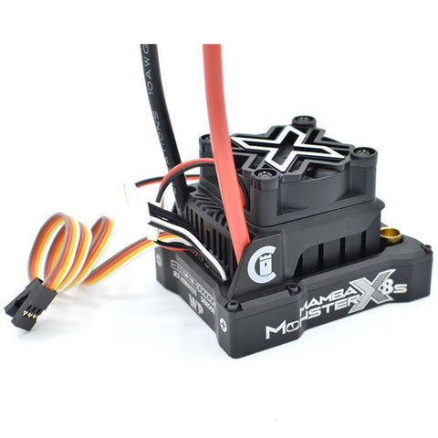 Castle Creations Mamba Monster X 8S Waterproof 33.6V Sensorless ESC, 010-0165-00