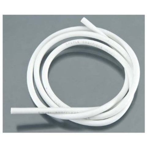 "Castle Creations Wire - 36"" 10 AWG White, 011-0032-0011003200"