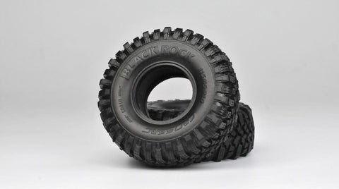 "Cross RC Blackrock Tires, Super Soft, 1.9"", 97400358"