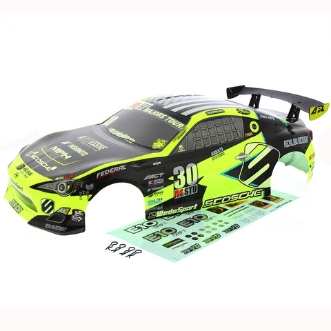 HPI Racing 1/10 E10 Michelle Abbate Grrracing Touring Car Body & Decals