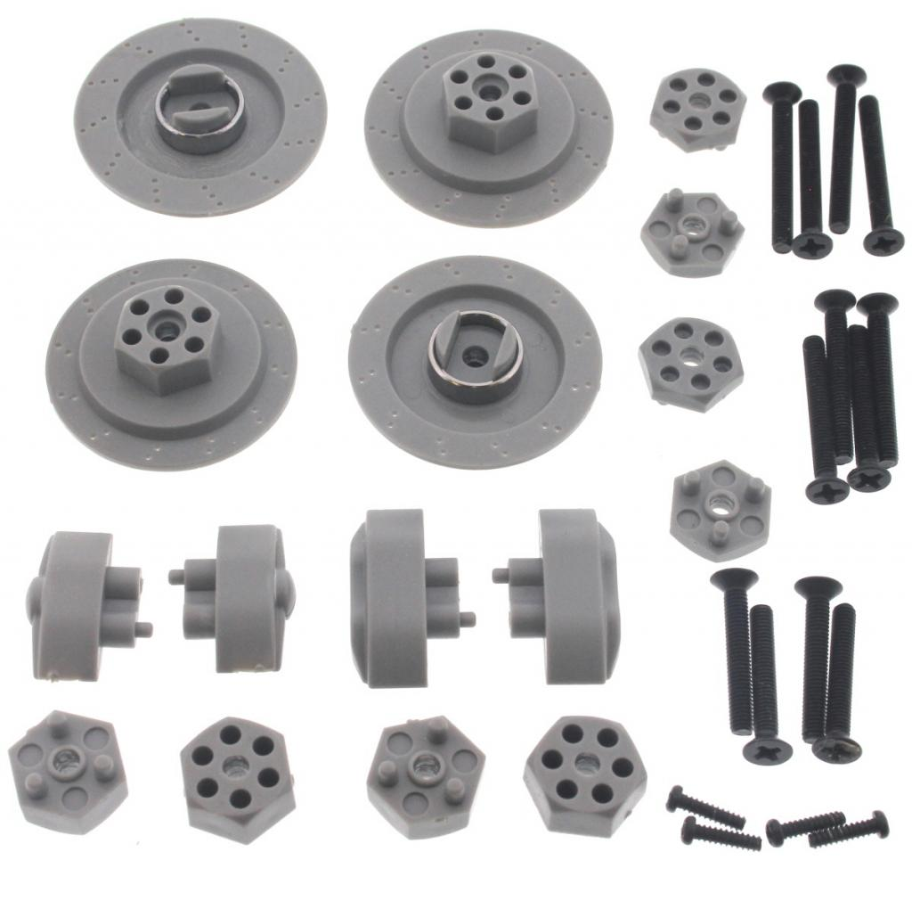 E10 Wheel Nuts 109494 Front & Rear 14mm Hex Hubs & Wheel Nut Screws