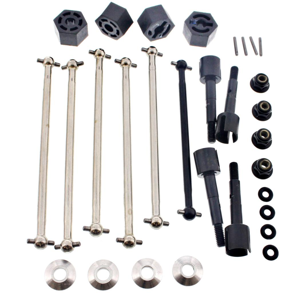 eBullet Drive Shafts 107008 Front, Rear & Center Drive Shafts, Axles & 14mm Wheel Hexes