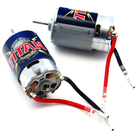 Traxxas 1/10 E-Maxx Twin Titan Monster 550 Motors
