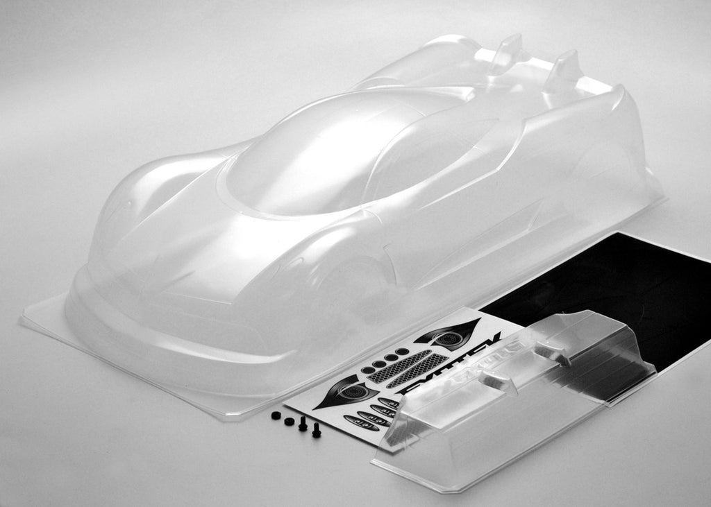 EXO1947 1947 P1-Z 1/10 USGT Race Body & Wing, Clear