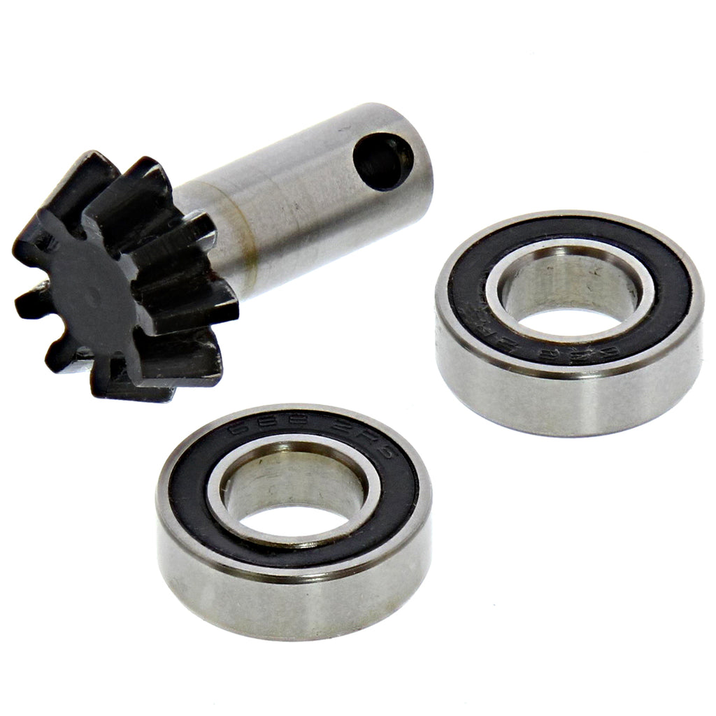 FluxXL Pinion 112609 105551 B085 9T Pinion Gear & Bearings