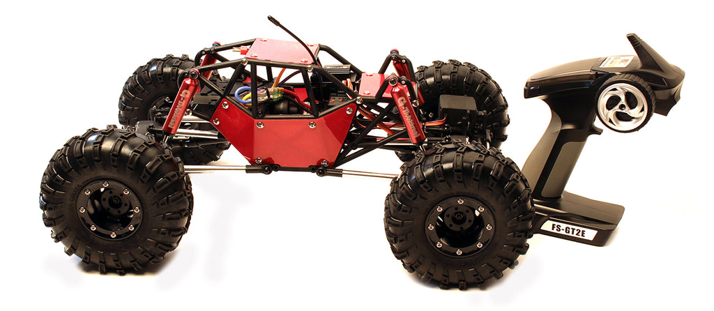 R1 Kit GMA51011 GMA51011 1/10 R1 Electric Rock Crawler, RTR, Red