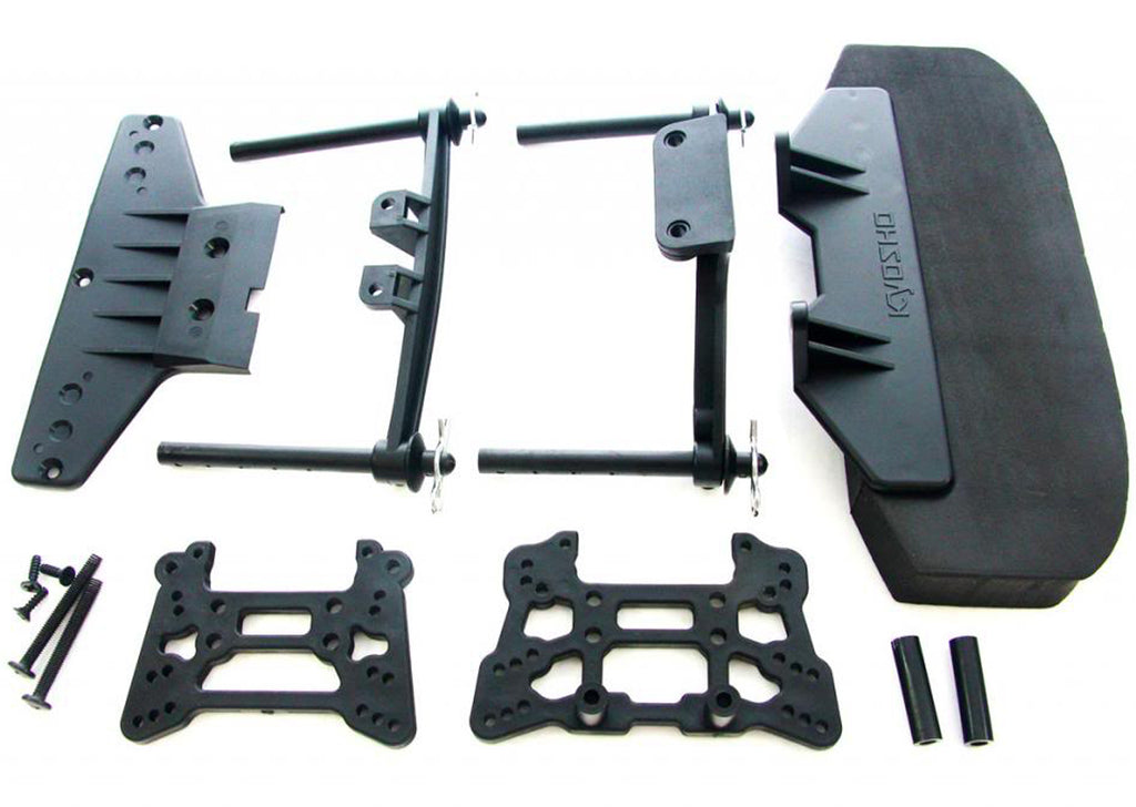 GT2 Bumper KYO31834B Front Bumper, Shock Towers & Body Posts