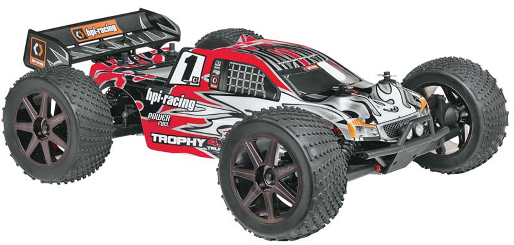 Truggy4.6 Kit 107014 107014 Trophy 4.6 Truggy RTR