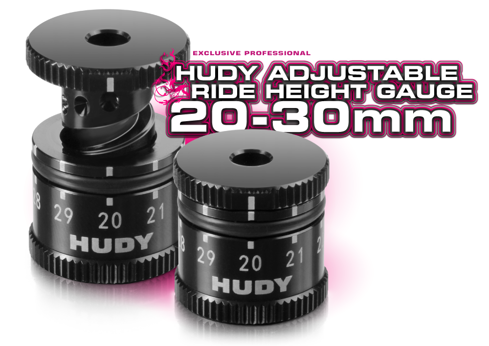 HUD107742 107742 Adjustable Chassis Ride Height Gauge, 20mm-30mm
