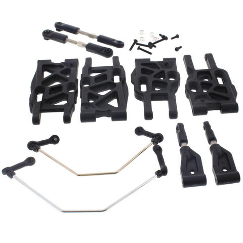 HoBao 1/8 Hyper 7 TQ Suspension Arms, Sway Bars & Turnbuckles