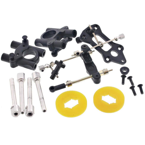 HoBao 1/8 Hyper 7 TQ Disc Brakes, Center Diff Mounts & Linkage