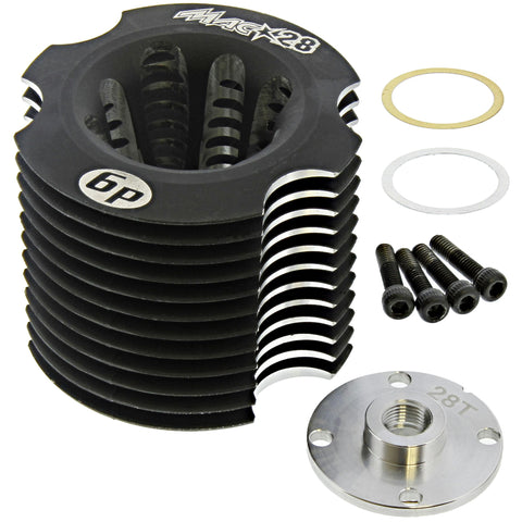 HoBao 1/8 Hyper 7 TQ .28 Cooling Head & Button