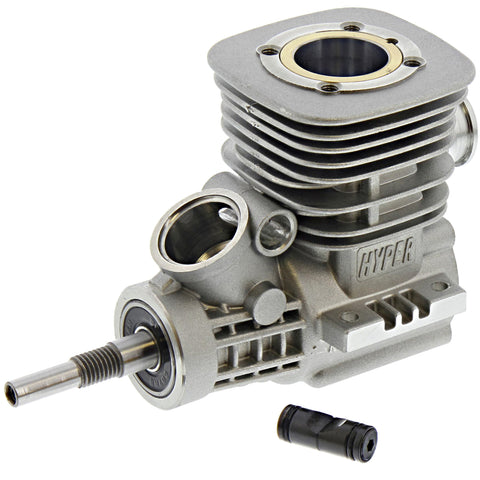 HoBao 1/8 Hyper 7 TQ .28 Assembled Crankcase/Shaft and Cylinder Head/Piston