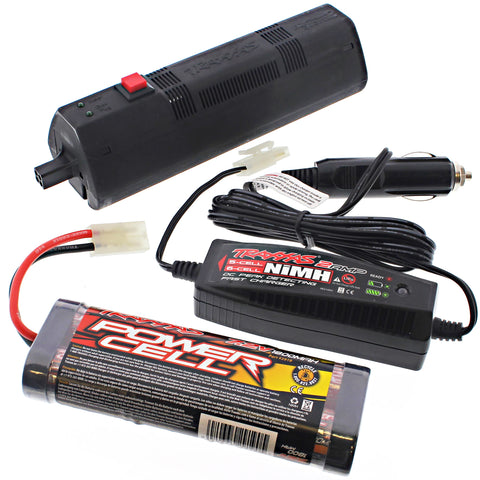Traxxas 1/10 Jato E-Z Start Control Box, 7.2V Battery & Charger