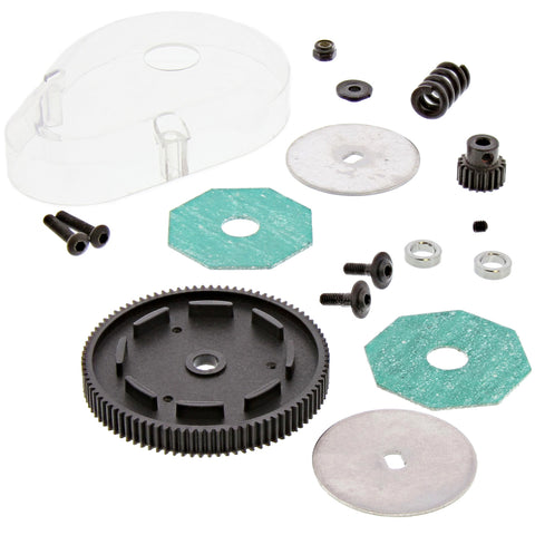 HPI Racing 1/10 Jumpshot V2 Slipper Clutch, Spur & Pinion Gears