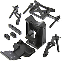 JumpshotST Towers 116112 Front & Rear Shock Towers, Body Posts & Skid Plate