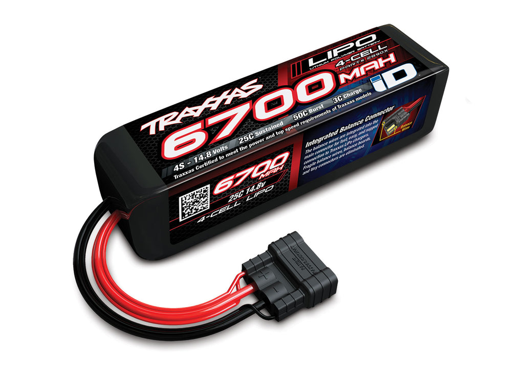 TRA2890X 2890X Power Cell 4S  LiPo Battery, 25C 6700mAh