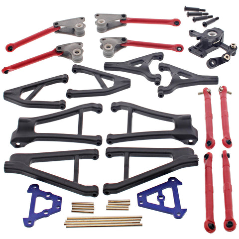 Traxxas 1/16 1/16 Ford Fiesta Suspension Arms, Turnbuckles, Bulkheads & Servo Saver