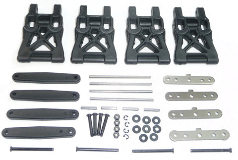 HPI Racing 1/16 Mini Savage XS Flux Suspension Arms, Braces & Hinge Pins