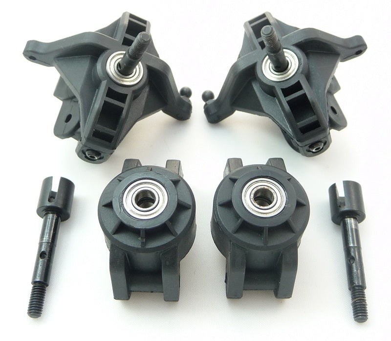 mFlux Axle Carriers 106571 Uprights, Axles & Bearings