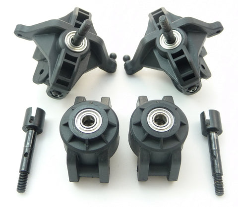 HPI Racing 1/16 Mini Savage XS Flux Uprights, Axles & Bearings