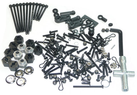 HPI Racing 1/16 Mini Savage XS Flux Screws & Tool Kit