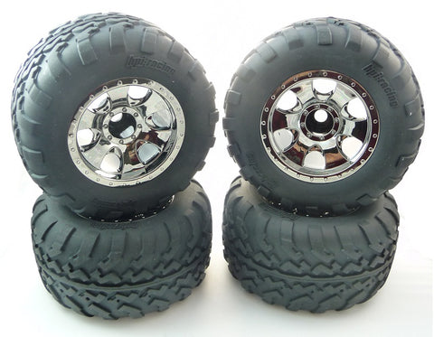 HPI Racing 1/16 Mini Savage XS Flux Tires & Wheels