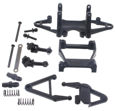 HPI Racing 1/10 Micro RS4 Arms, Front Shocks,  Drive Shafts & Hinge Pins