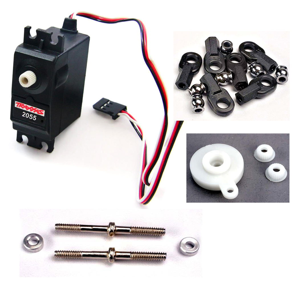 nSlash 2055 Servo 2055 2055 High Torque Steering Servo, Turnbuckle & Saver