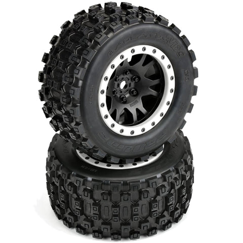 Pro-Line Badlands MX43 Tires & Impulse Pro-Loc Wheels, 10131-13
