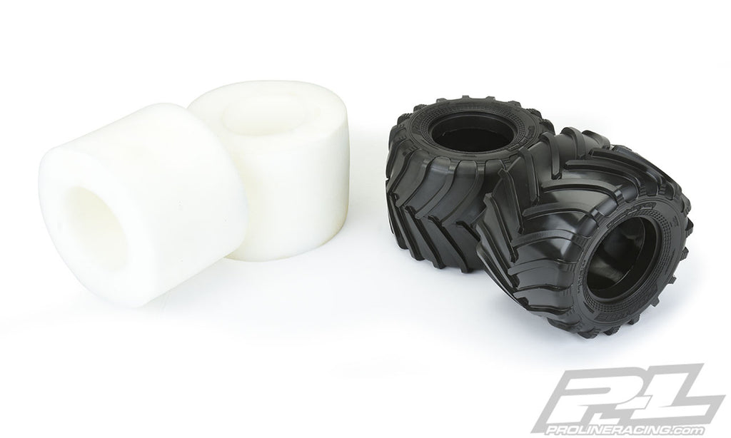 "PRO10162-02 10162-02 Decimator 2.6"" M3 Solid Axle Monster Tires, Clod Buster"